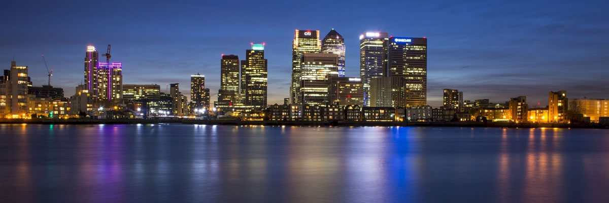Canary Wharf. Image credit: skeeze.