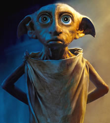 Dobby the house elf. Image credit: Harry Potter Wikia.