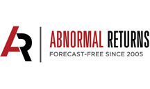 Featured on Abnormal Returns.