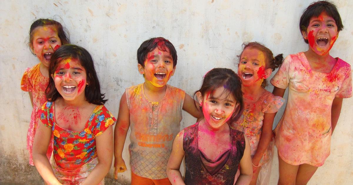 Holi - Festival of colours. Image credit: shekharchopra85.
