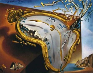 """Melting Watch"" by Salvador Dali"