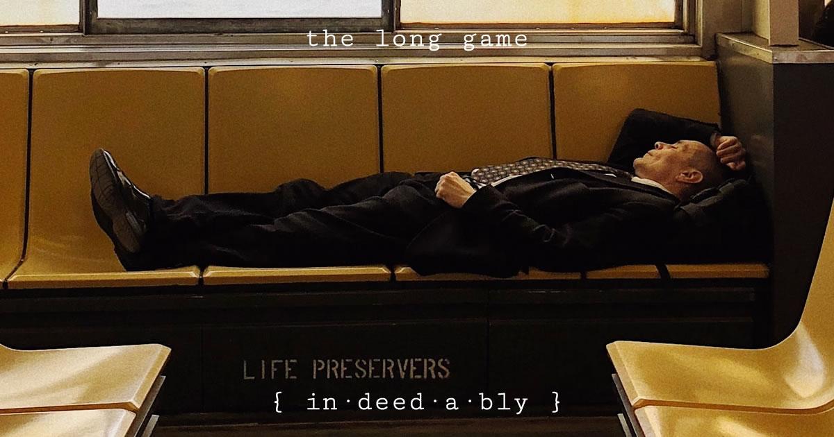 The long game. Image credit: Konstantine Trundayev.