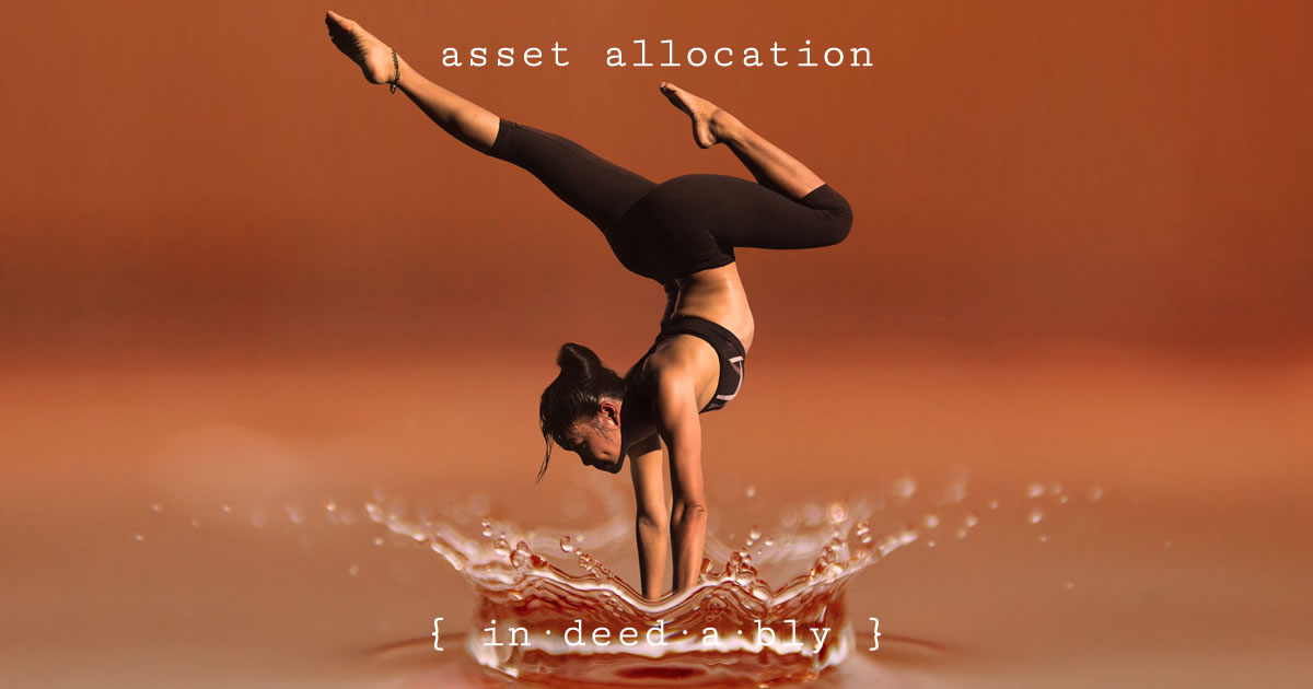 Asset allocation. Image credit: geralt.