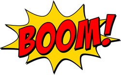 Boom! Image credit: Naveenan.