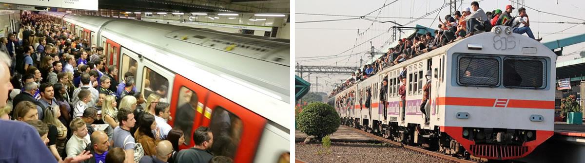 Commuter crush. Image credit: Anwill and oktaviono.