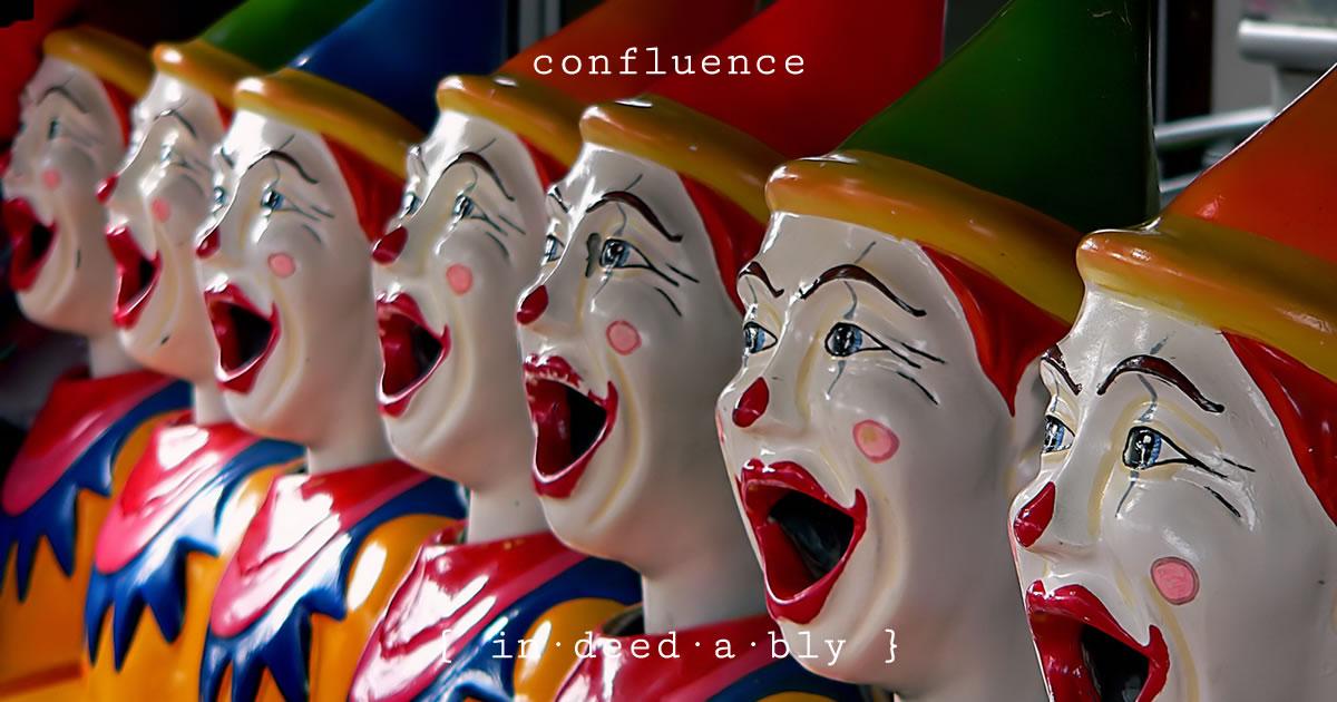 Confluence. Image credit: Bernard Spragg.
