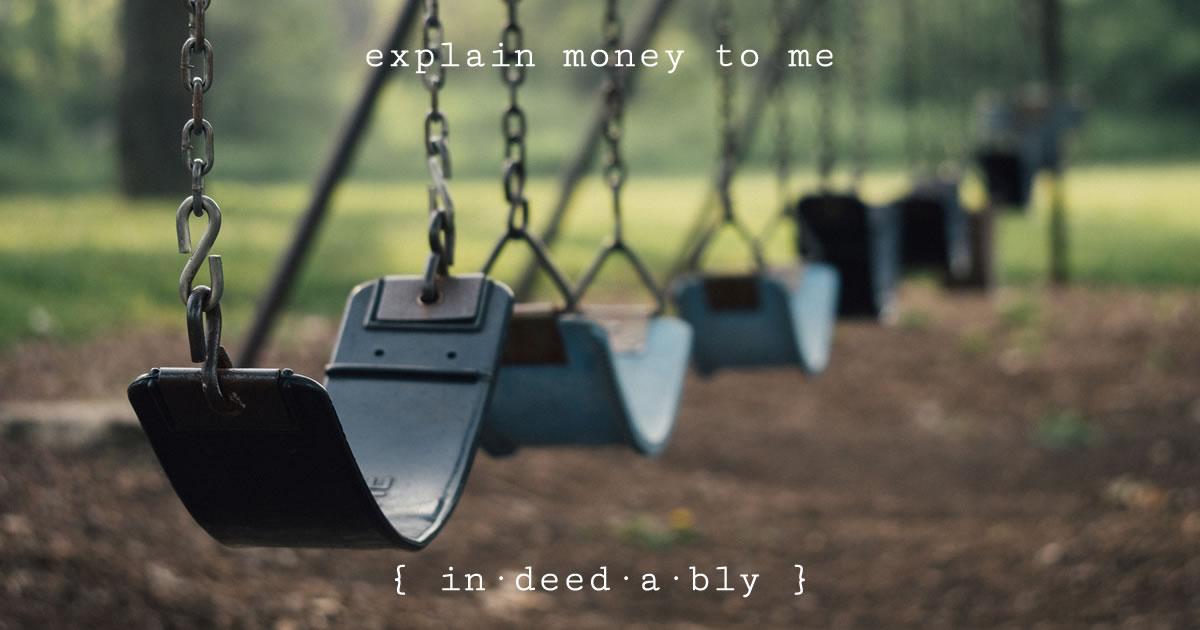 Explain money to me. Image credit: Free-Photos.
