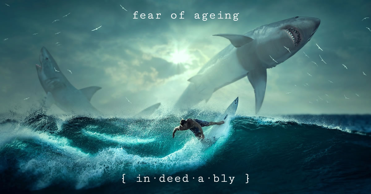 Fear of ageing. Image credit: kellepics.