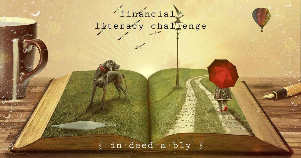 Financial literacy challenge. Image credit: Comfreak.