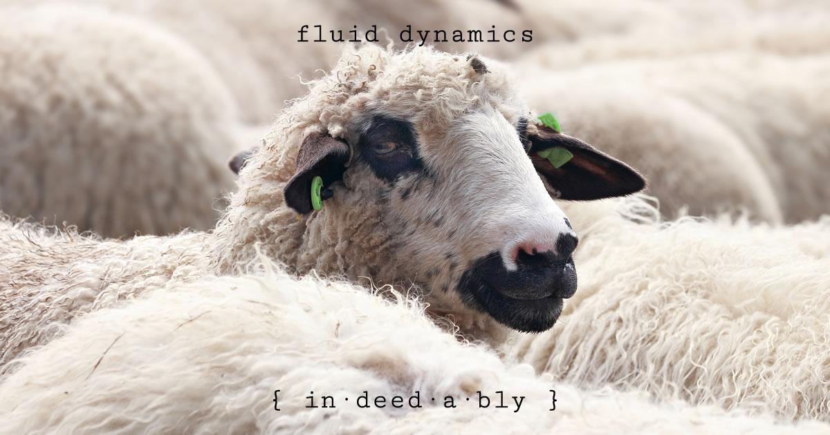 Fluid dynamics. Image credit: pixel2013.