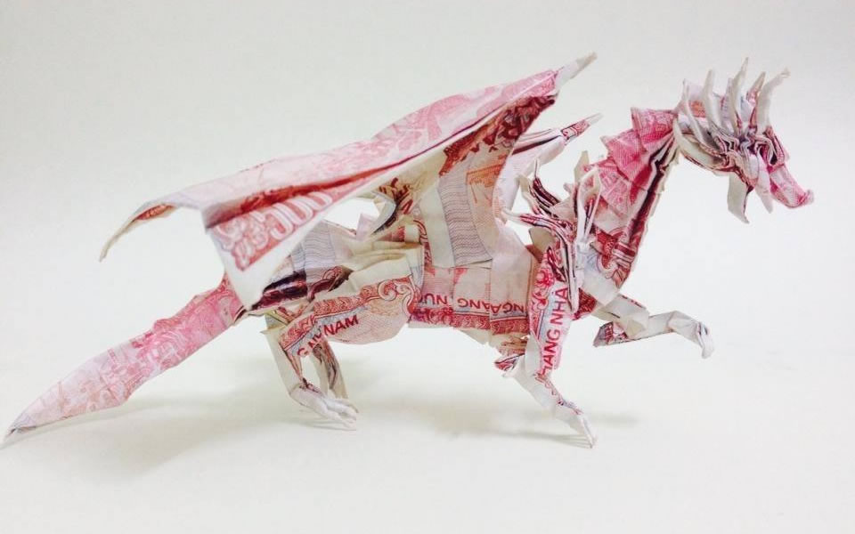 Money dragon. Image credit: Đỗ Anh Tú.