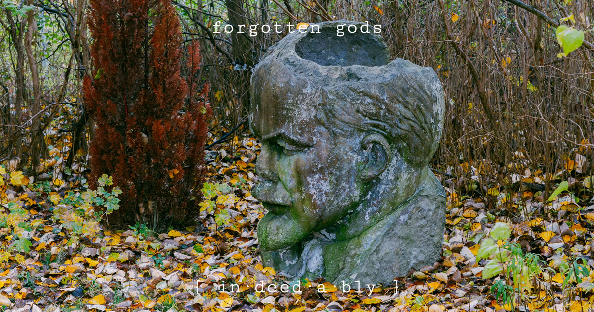 Forgotten gods. Image credit: Felipe Tofani.