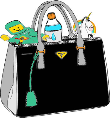 Handbag. Image credit: clipartxtras.com