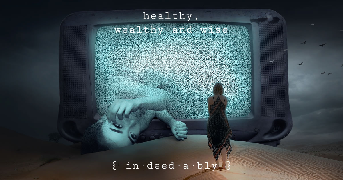 Healthy, wealthy and wise. Image credit: kellepics.