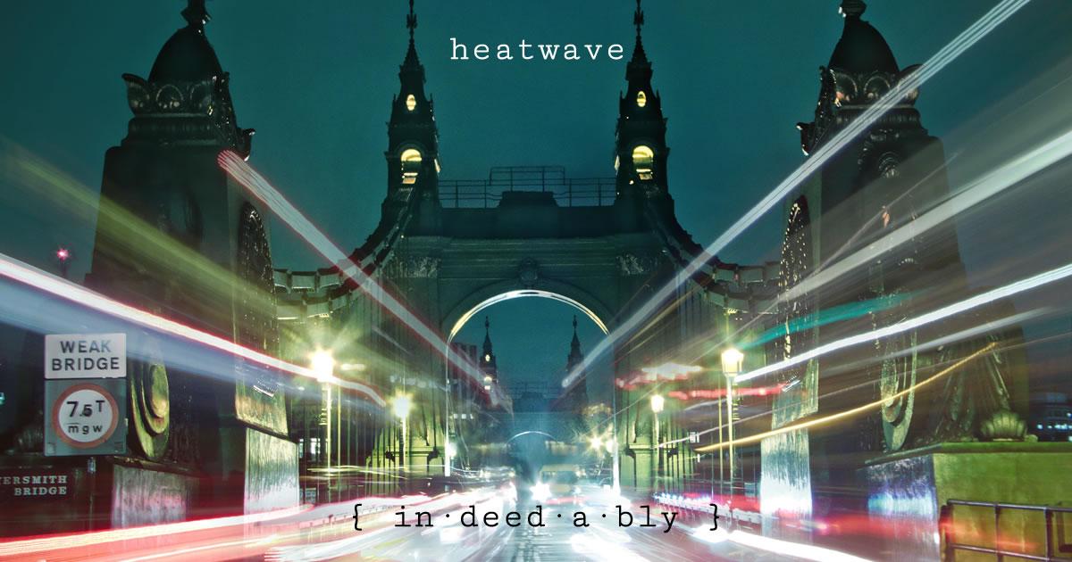 Heatwave. Image credit: Gael Varoquaux.