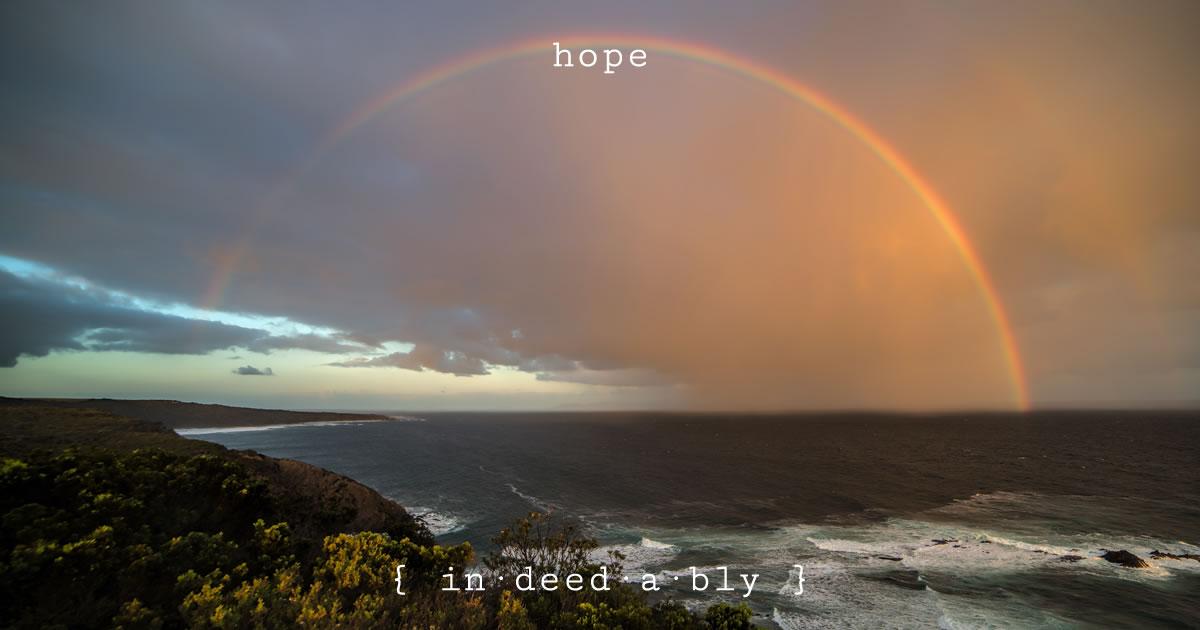 Hope. Image credit: Cindy Lever.