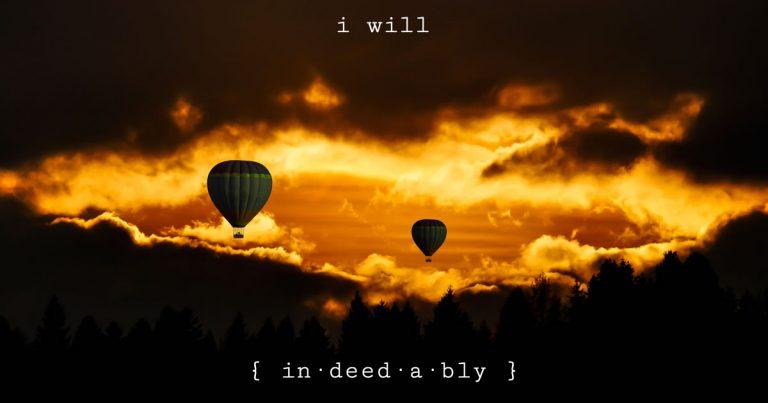 I will. Image credit: Gellinger.