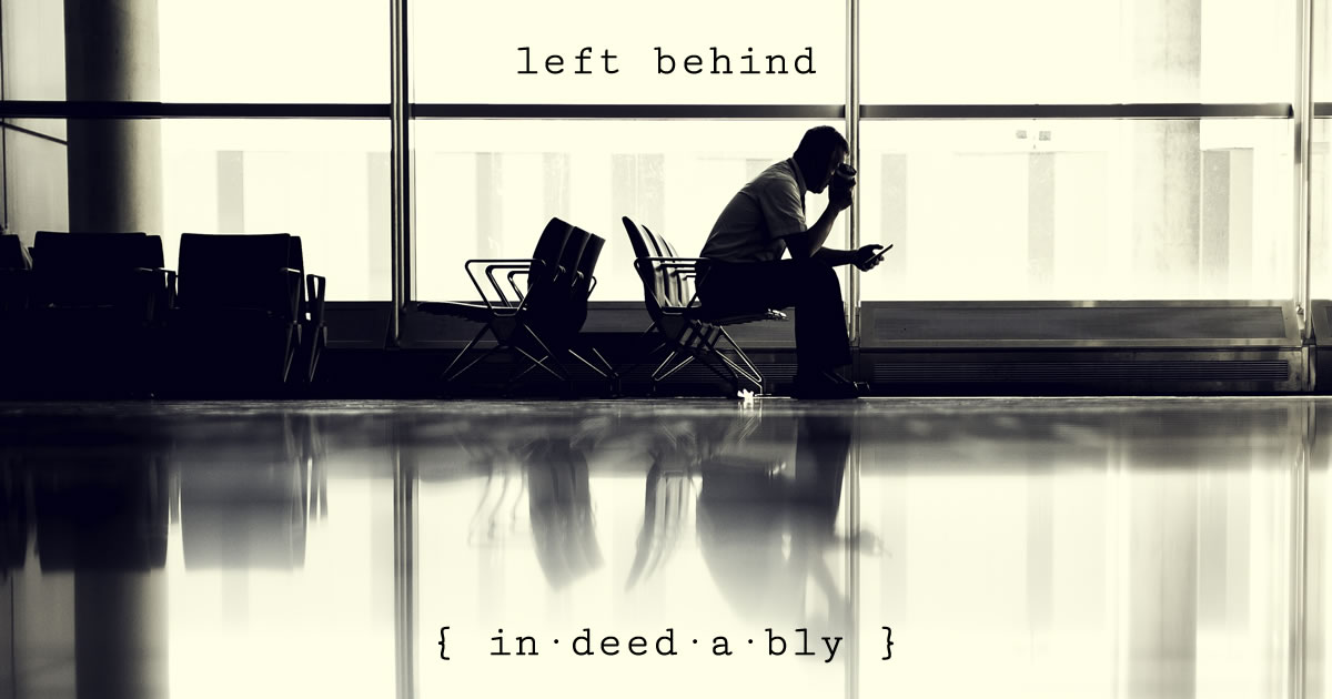 Left behind. Image credit: Free-Photos.