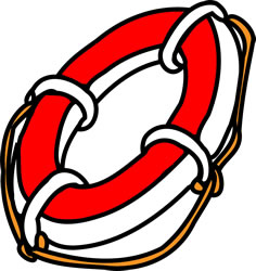 life preserver. Image credit: Clker-Free-Vector-Images.