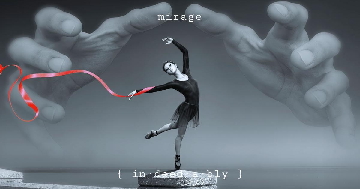 Mirage. Image credit: kellepics.