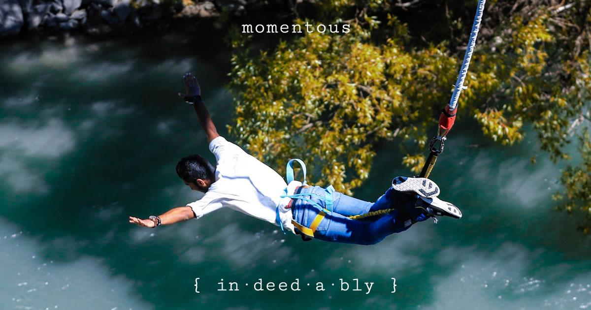 Momentous. Image credit: Anoof Junaid.