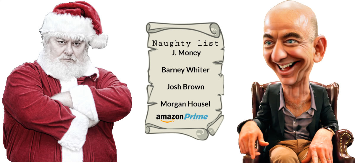 Naughty list. Image credits: Richard Elzey, Wiki Commons, and DonkeyHotey.