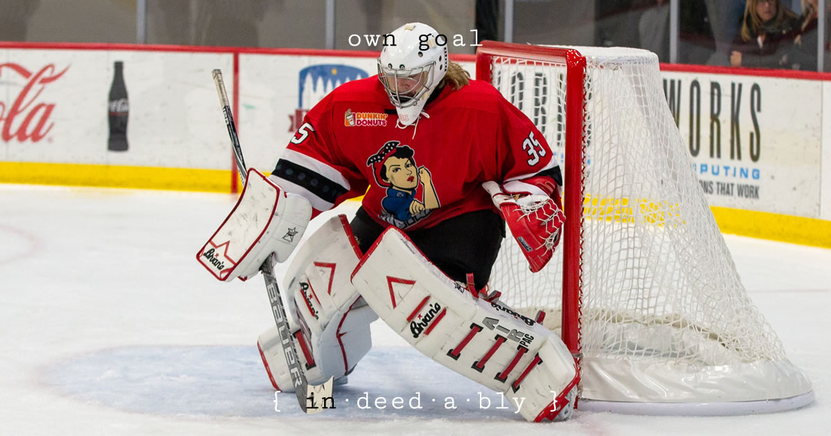 Own goal. Image credit: Lorie Shaull.