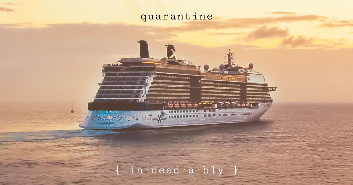 Quarantine. Image credit: stokpic.