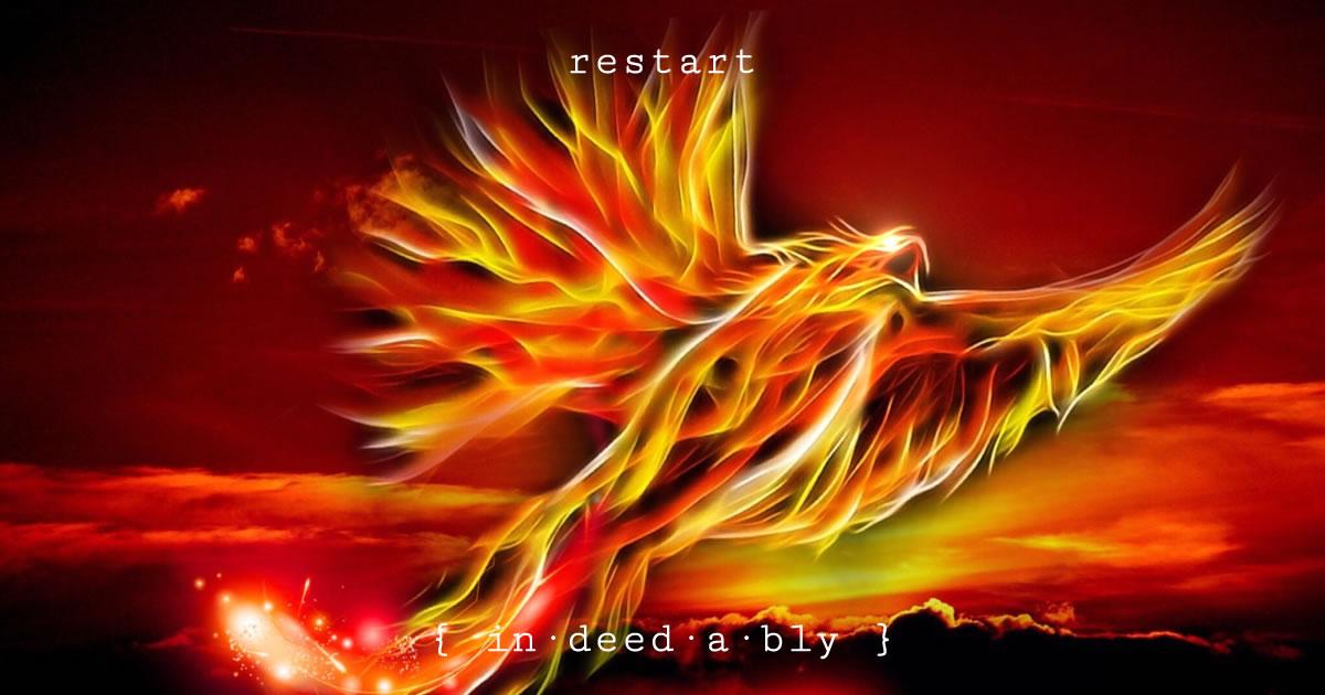 Restart. Image credit: Mysticsartdesign.