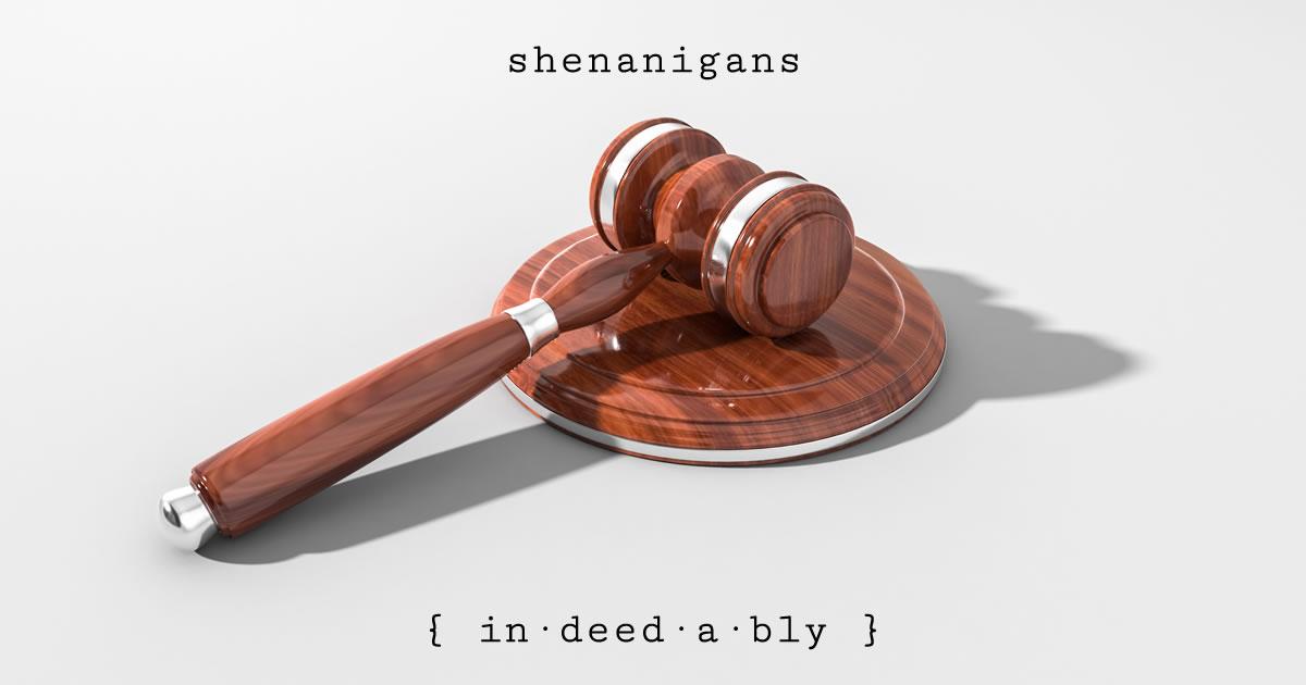 Shenanigans. Image credit: Arek Socha.