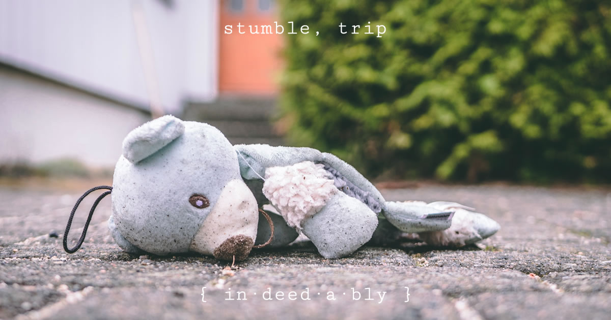 Stumble, trip. Image credit: Trym Nilsen.