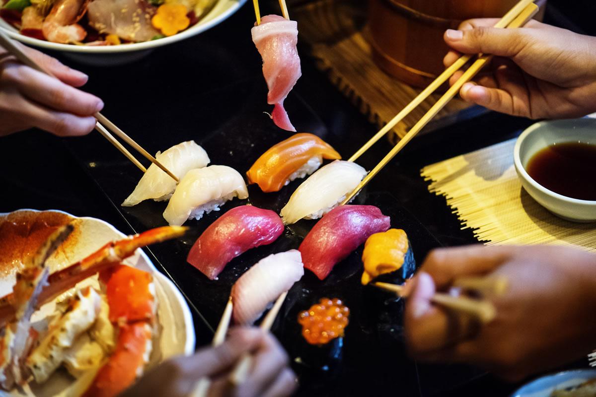 Sushi restaurant. Image credit: rawpixel.