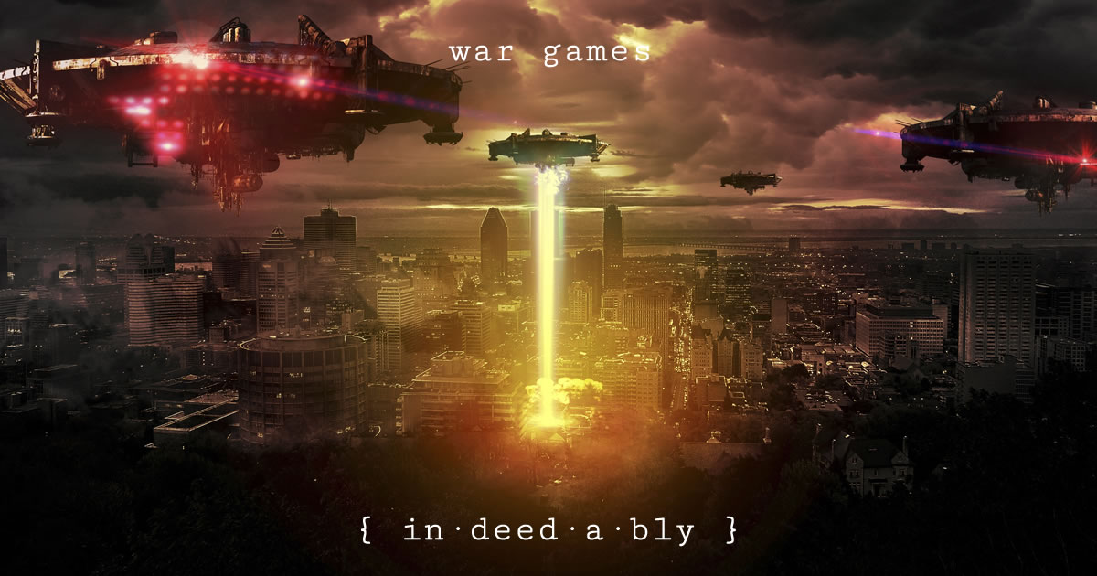 War games. Image credit: Rosiette-Stock.